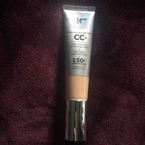 IT cosmetics CC+ cream with SPF 50